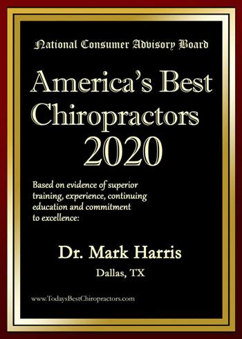 Dr. Mark Harris DC America's Best Chiropractor