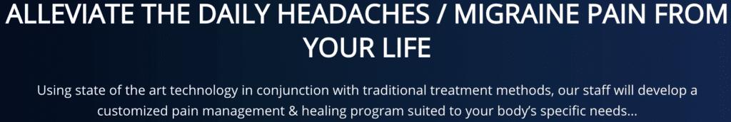 Alleviate your headeache