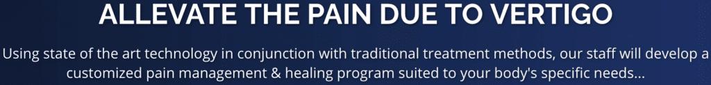 Message to Alleviate Pain due to Vertigo Dallas Chiropractic