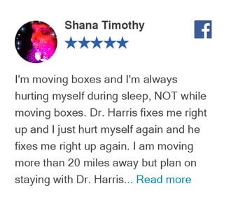 Review Shana Trinity Mills Chiropractic Centre Dallas