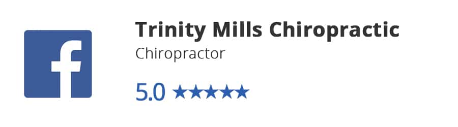 Trinity Mills Chiropractic Facebook Review
