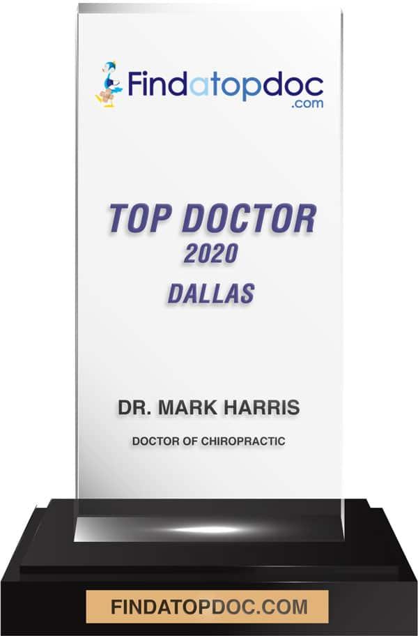 Findatopdoc.com announces Top Doctor 2020 Dr. Mark Harris DC in Dallas