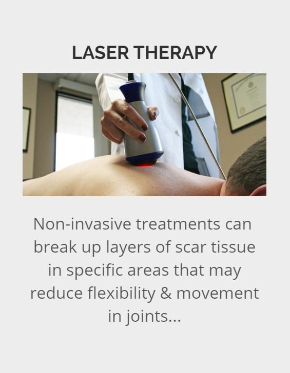 About Laser Therapy in Dallas, TX