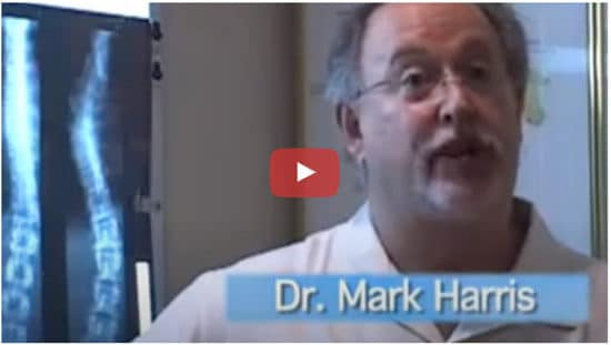 Dr. Mark Harris speaking about Trinity Mills Chiropractic